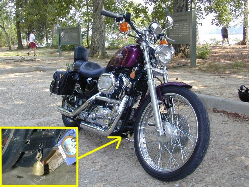 bell legend harley bike road crazyeddie